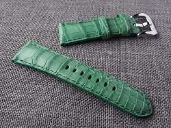Light Green Alligator Strap  26/24 75/125